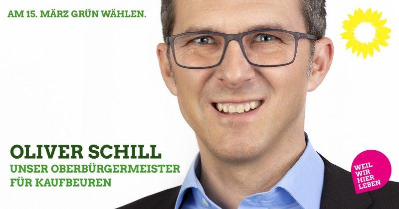 Stadtrat Oliver Schill: Oberbürgermeister für Kaufbeuren 2020