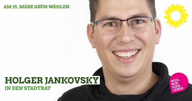Grüne Liste Stadtrat Kaufbeuren 2020: Holger Jankovsky kandidiert
