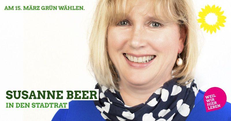 Susanne Beer Stadtratskandidatin Kaufbeuren 2020