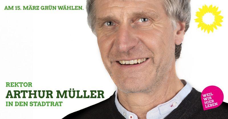 Rektor Arthur Müller in den Kaufbeurer Stadtrat