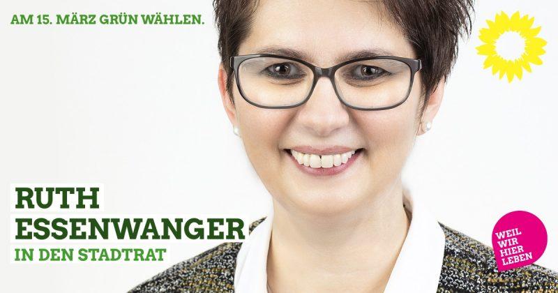 Ruth Lisl Essenwanger Grüne Kandidatin Stadtrat Kaufbeuren