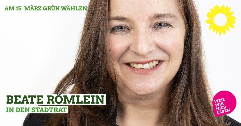 Stadtratskandidatin Beate Römlein, Kommunalwahl Kaufbeuren 2020