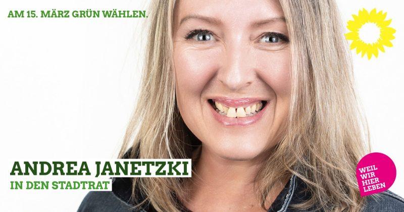 Stadtratskandidatin Kaufbeuren 2020 Andrea Janetzki