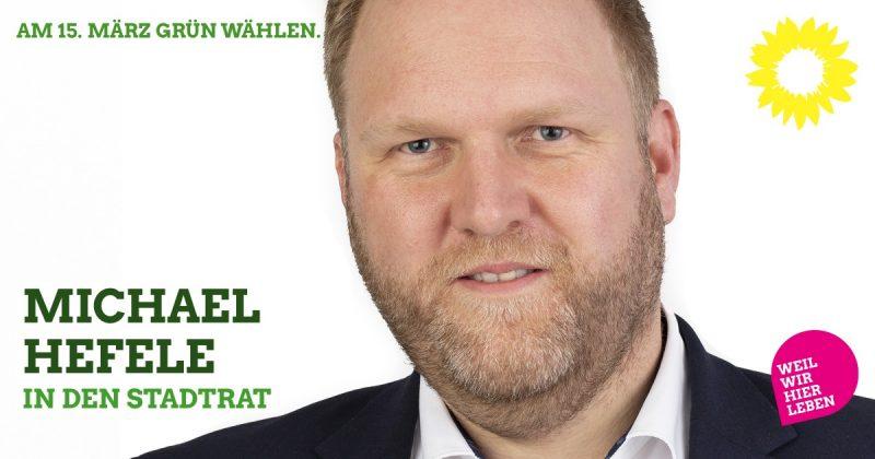 Stadtratskandidat Michael Hefele Kaufbeuren