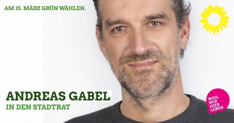 Stadtratskandidat Andreas Gabel