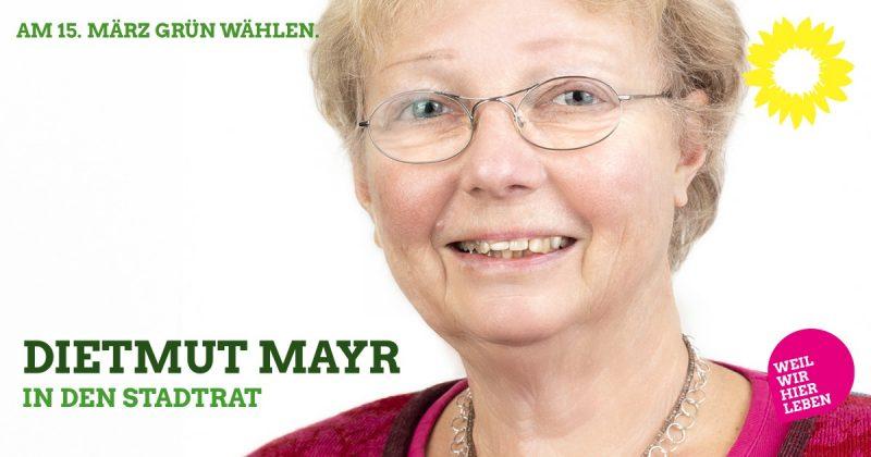 Dietmut Mayr aus Oberbeuren als Kandidatin für den Kaufbeurer Stadtrat