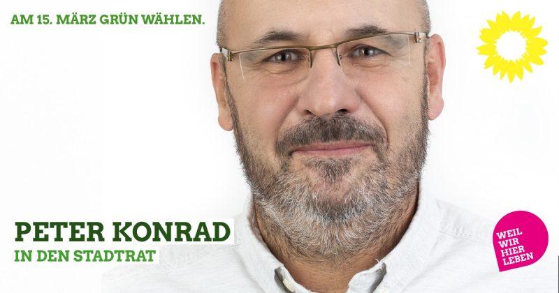 Stadtratskandidat auf der grünen Liste für Kaufbeuren 2020: Peter Konrad