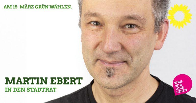 Kaufbeurer Stadtrat: Martin Ebert kandidiert wieder