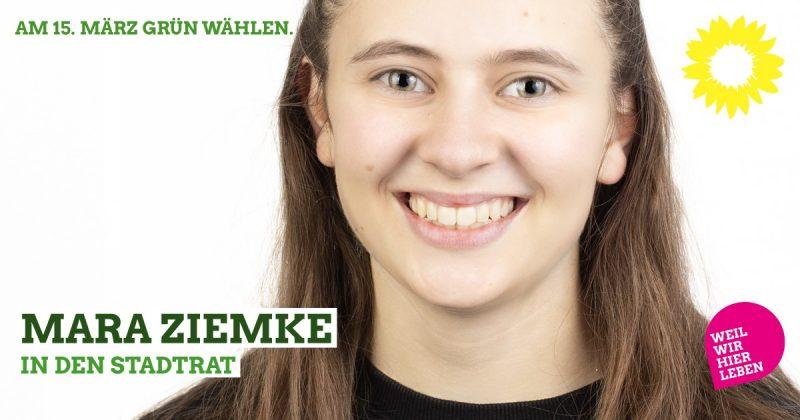 Kaufbeurer Stadtratskandidatin Mara Ziemke