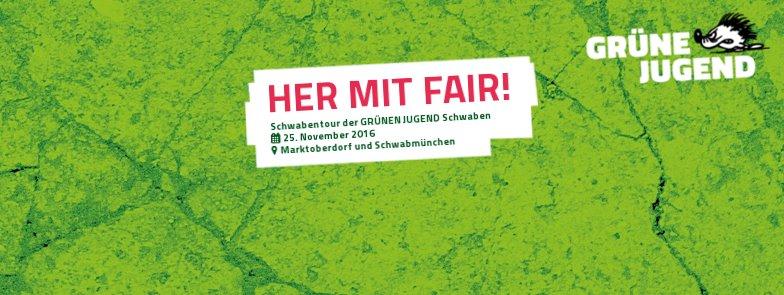25.11.2016: Her mit fair!