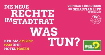Neue Rechte AfD kommunal Sebastian Lipp Vortrag in Kaufbeuren