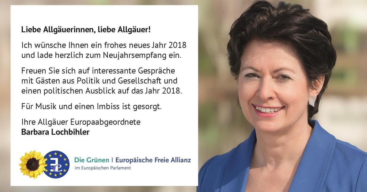 Neujahrsempfang 2018 von Barbara Lochbihler.