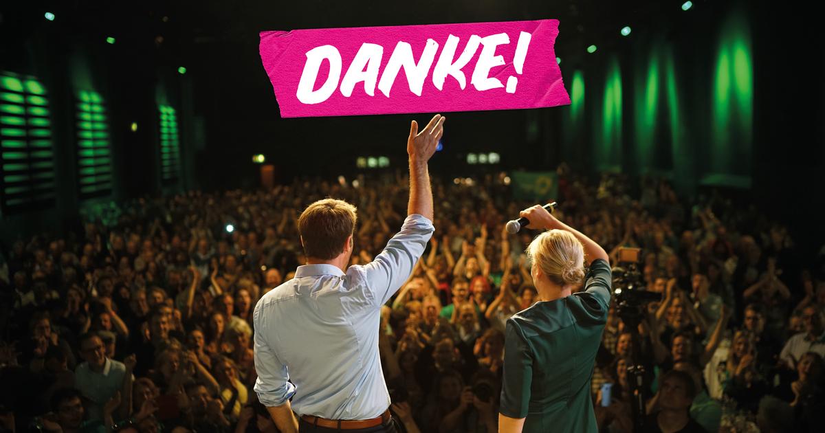 Erfreuliches Grünes Ergebnis bei der Landtagswahl 2018.