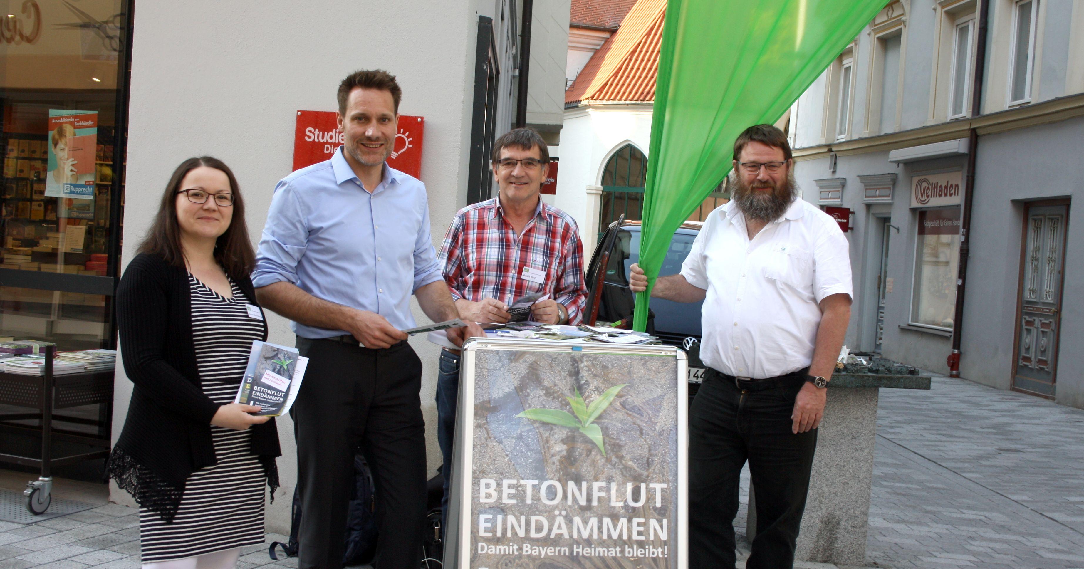 Flächenverbrauch braucht klare Grenzen – Damit Bayern Heimat bleibt.
