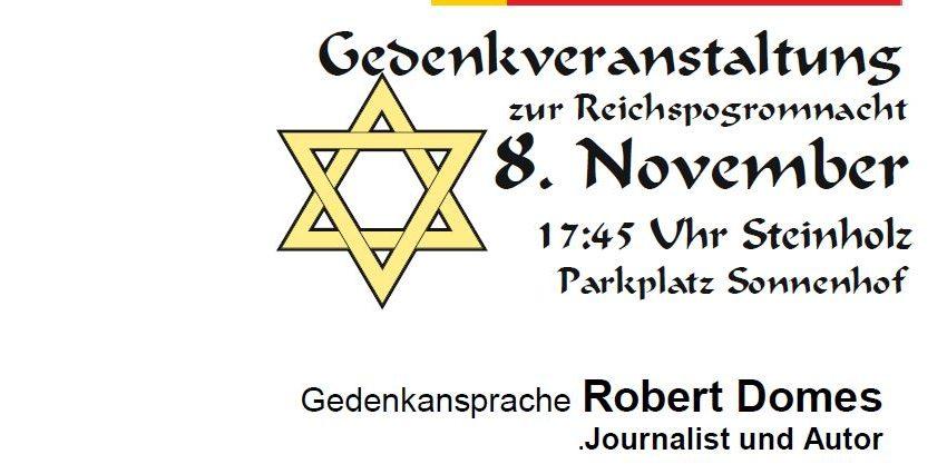 Gedenkveranstaltung Steinholz 2019