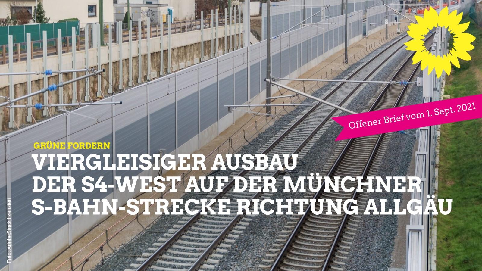 4-gleisiger Bahn-Ausbau jetzt!
