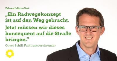 Oliver Schill Fahrradfreundlichkeit Kaufbeuren Radwegekonzept