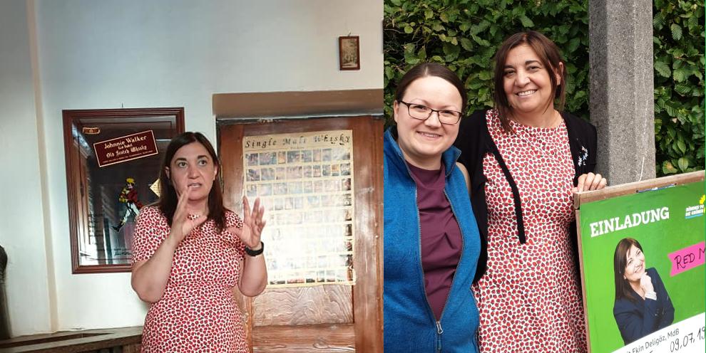 Red mit Ekin Deligöz in Kaufbeuren