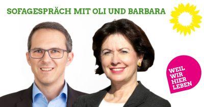 Oliver Schill, OB-Kandidat Kaufbeuren, trifft Barbara Lochbihler, Ex-MdEP aus Ronsberg
