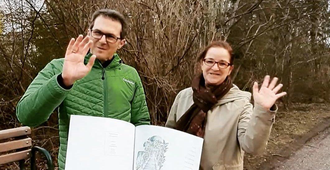Video: Spaziergang im Stadtteilpark mit dessen Architektin Beate Römlein