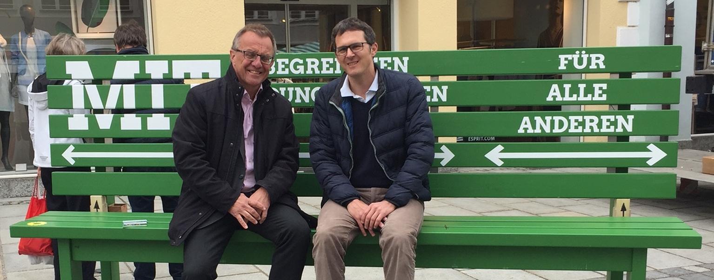 Wertvolle Gespräche für die Arbeit im Landtag.