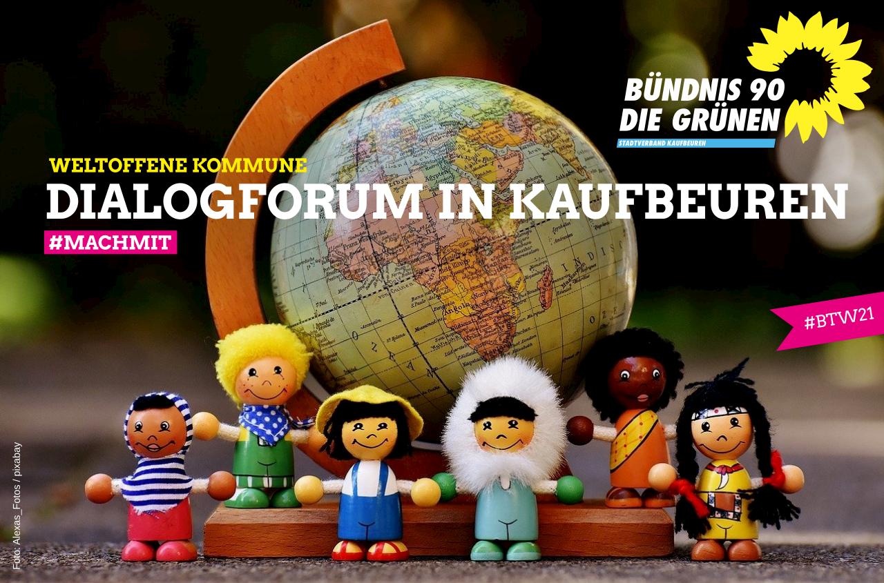 """Die Weltoffene Kommune Kaufbeuren lädt ein zur Dialogveranstaltung """"Arbeit und wirtschaftliche Entwicklung"""""""