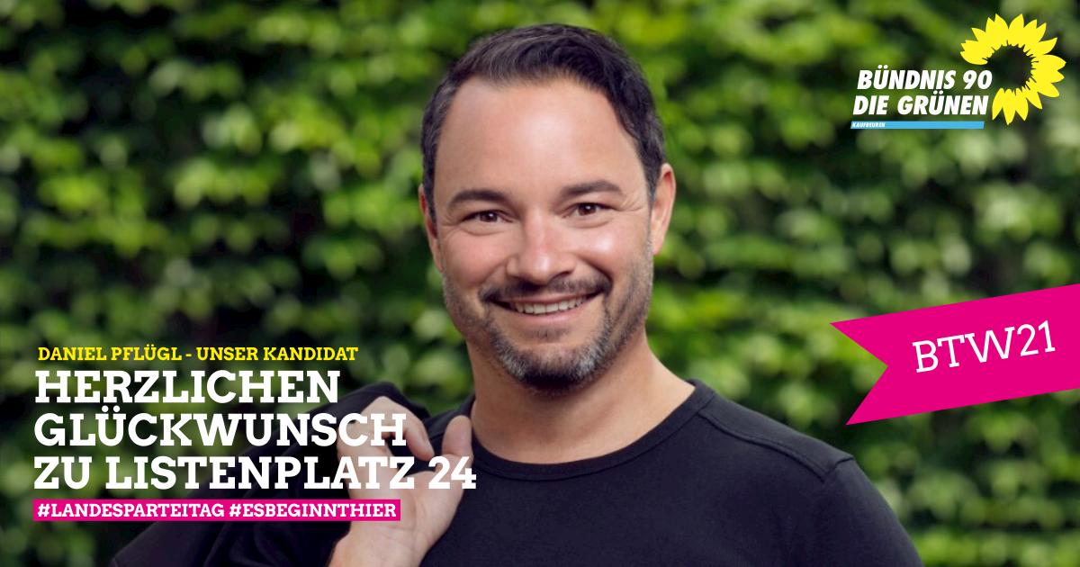 Start in den Wahlkampf – Listenplatz 24 für Daniel Pflügl