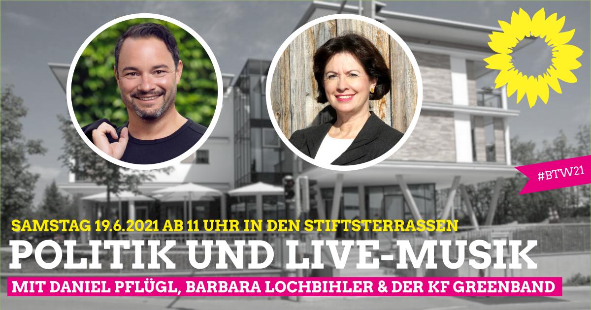 Politik und Live-Musik – heiße Themen und coole Unterhaltung
